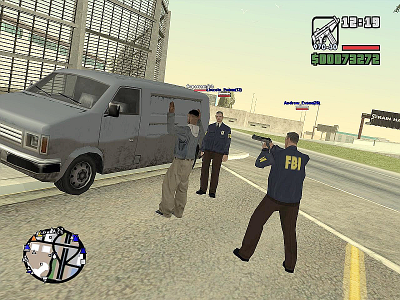 Windows 7 San Andreas Multiplayer 0.3.7 full