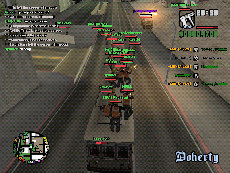 gta multiplayer online: